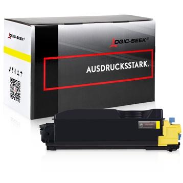Logic-Seek  Toner kompatibel zu Kyocera TK-5280Y 1T02TWANL0 HC Yellow