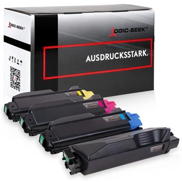 Logic-Seek 4 Toner kompatibel zu Kyocera TK-5280 HC