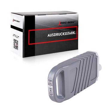 Logic-Seek  Tintenpatrone kompatibel zu Canon PFI-1700PGY 0782C001 XL Light Grau