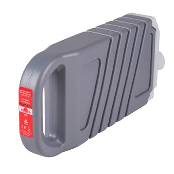 Logic-Seek  Tintenpatrone kompatibel zu Canon PFI-1700R 0783C001 XL Rot