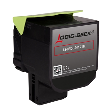 Logic-Seek  Toner kompatibel zu Lexmark CS417 71B0H10 HC Schwarz