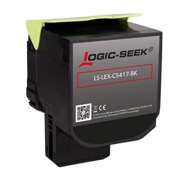 Logic-Seek 4 Toner für Lexmark CS417 1xbk 1xcmy