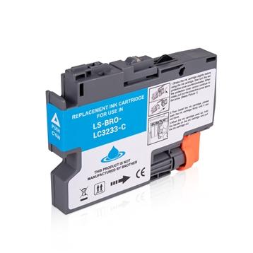 Logic-Seek  Tintenpatrone kompatibel zu Brother LC-3233C Cyan