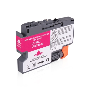 Logic-Seek  Tintenpatrone kompatibel zu Brother LC-3233M Magenta