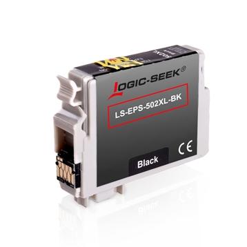 Logic-Seek  Tintenpatrone kompatibel zu Epson XP-5100 502XL C13T02W14010 XXL Schwarz