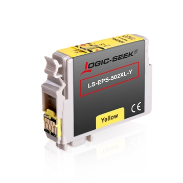 Logic-Seek  Tintenpatrone kompatibel zu Epson XP-5100 502XL C13T02W44010 XXL Yellow