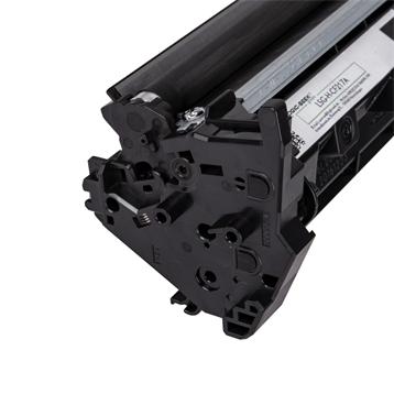 Logic-Seek Green Toner kompatibel zu HP 17A CF217A HC Schwarz