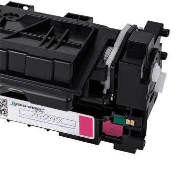 Logic-Seek Green Toner kompatibel zu HP 410X CF413X XL Magenta