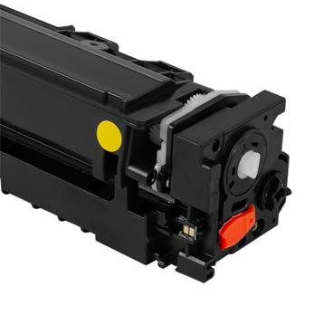 Logic-Seek  Toner kompatibel zu Canon Cartridge 054H 3025C002 UHC Yellow