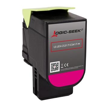 Logic-Seek  Toner kompatibel zu Lexmark CS317 71B0030 HC Magenta