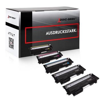 Logic-Seek 5 Toner kompatibel zu HP W2070A-W2073A HC