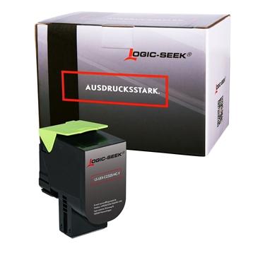 Logic-Seek  Toner kompatibel zu Lexmark C2325 C2320Y0 HC Yellow