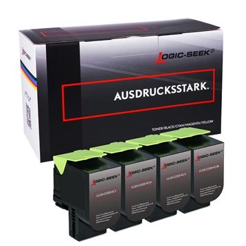 Logic-Seek 4 Toner kompatibel zu Lexmark C2325 HC