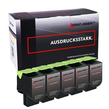 Logic-Seek Set 5 Toner Lexmark C2325 2xbk 1xcmy
