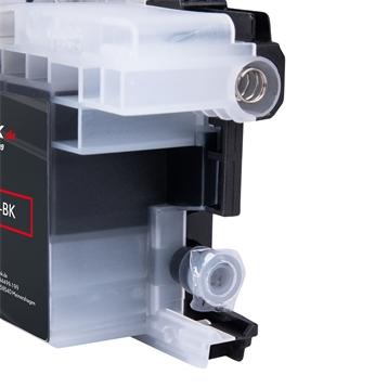 Logic-Seek  Tintenpatrone kompatibel zu Brother LC-22UBK XL Schwarz