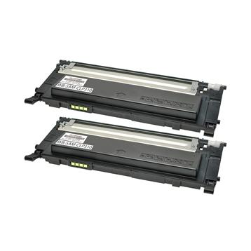 Logic-Seek 2 Toner kompatibel zu Samsung CLP-310 K4092S CLT-K4092S/ELS HC Schwarz