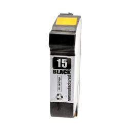 Logic-Seek  Tintenpatrone kompatibel zu HP 15 C6615DE XL Schwarz
