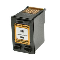 Logic-Seek  Tintenpatrone kompatibel zu HP 56 C6656AE XL Schwarz