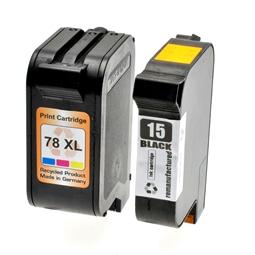 Logic-Seek 2 Tintenpatronen kompatibel zu HP 15 78 XL