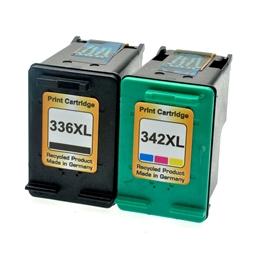 Logic-Seek 2 Tintenpatronen kompatibel zu HP 336 342 XL