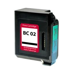 Logic-Seek  Tintenpatrone kompatibel zu Canon BC-02 0881A002 XL Schwarz