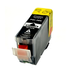 Logic-Seek  Tintenpatrone kompatibel zu Canon PGI-5BK 0628B001 XL Schwarz