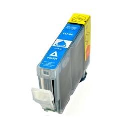 Logic-Seek  Tintenpatrone kompatibel zu Canon CLI-8C 0621B001 XL Cyan