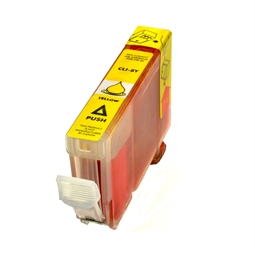 Logic-Seek  Tintenpatrone kompatibel zu Canon CLI-8Y 0623B001 XL Yellow