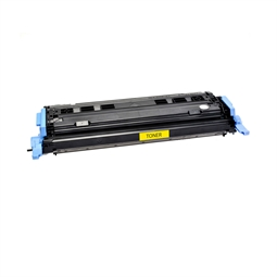 Logic-Seek  Toner kompatibel zu HP 1600 124A Q6002A HC Yellow