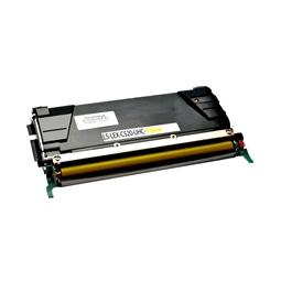 Logic-Seek  Toner kompatibel zu Lexmark C520 C522 C530 XL C5222YS UHC Yellow