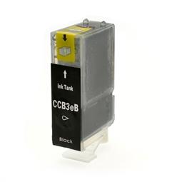 Logic-Seek  Tintenpatrone kompatibel zu Canon BCI-3EBK 4479A002 XL Schwarz