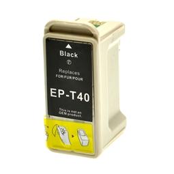 Logic-Seek  Tintenpatrone kompatibel zu Epson Stylus C62 T040 C13T04014010 XL Schwarz