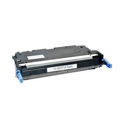 Logic-Seek  Toner kompatibel zu HP 3600 502A Q6471A HC Cyan