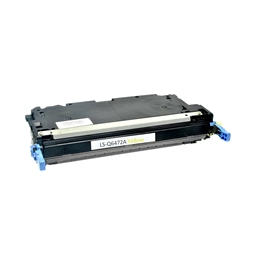 Logic-Seek  Toner kompatibel zu HP 3600 502A Q6472A HC Yellow