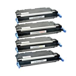 Logic-Seek 4 Toner kompatibel zu HP Q6470A Q7581A-Q7583A 3800 HC