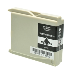 Logic-Seek  Tintenpatrone kompatibel zu Brother LC-970BK XL Schwarz