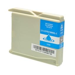 Logic-Seek  Tintenpatrone kompatibel zu Brother LC-1000C XL Cyan