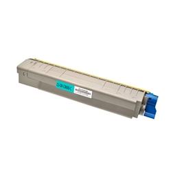 Logic-Seek  Toner kompatibel zu OKI C8600 C8800 43487711 HC Cyan