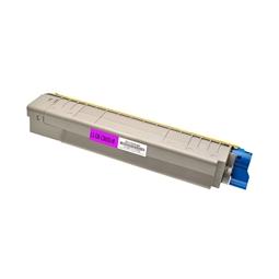 Logic-Seek  Toner kompatibel zu OKI C8600 C8800 43487710 HC Magenta