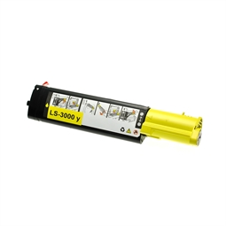 Logic-Seek  Toner kompatibel zu Dell 3100 XL K4974 593-10063 UHC Yellow