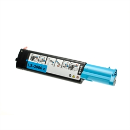 Logic-Seek  Toner kompatibel zu Dell 3100 XL K4973 593-10061 UHC Cyan