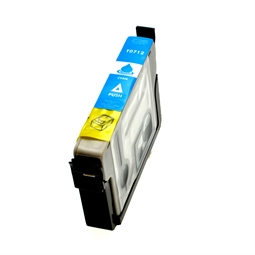 Logic-Seek  Tintenpatrone kompatibel zu Epson Stylus D78 T0712 C13T07124011 XL Cyan