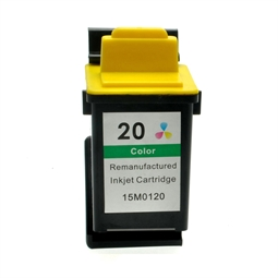 Logic-Seek  Tintenpatrone kompatibel zu Lexmark 20 15M0120E XL Color