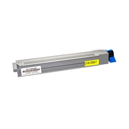 Logic-Seek  Toner kompatibel zu OKI C9600 42918913 HC Yellow
