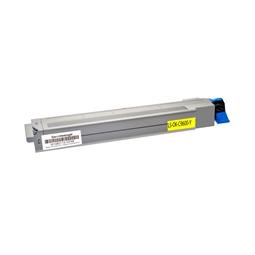 Logic-Seek  Toner kompatibel zu OKI C9600 42918913 HC Yellow