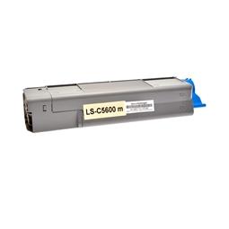 Logic-Seek  Toner kompatibel zu OKI C5600 43381906 HC Magenta