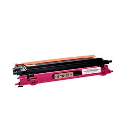 Logic-Seek  Toner kompatibel zu Brother TN-135M HC Magenta