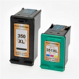 Logic-Seek 2 Tintenpatronen kompatibel zu HP 350 351 XL