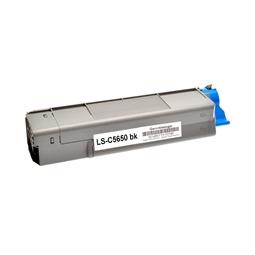 Logic-Seek  Toner kompatibel zu OKI C5650 43865708 HC Schwarz