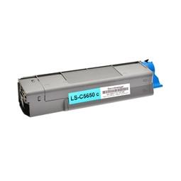 Logic-Seek  Toner kompatibel zu OKI C5650 43872307 HC Cyan